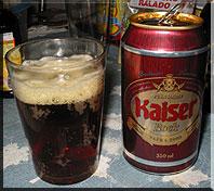 Kaiser Bier Brasilien