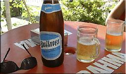 Quilmes 1 Liter Flasche