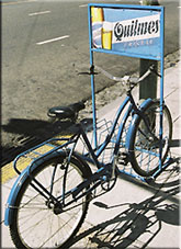 Quilmes Fahrradwerbung