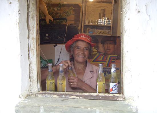Polar Bier am Kiosk in den Anden