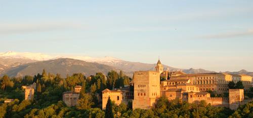 Alhambra Bier aus Granada, Spanien