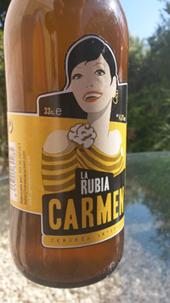 Carmen – La Rubia: Bier mit Koriander und Orangenschlaen