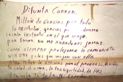 Difunta-Correa-Devotionalie